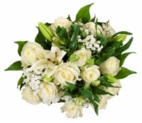 BLOOM HAUS™ Elegant White Rose Boquet