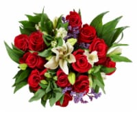 BLOOM HAUS™ Elegant Red Rose Boquet