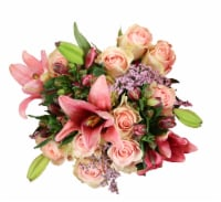 BLOOM HAUS™ Elegant Pink Rose Boquet