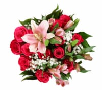 BLOOM HAUS™ Elegant Hot Pink Rose Boquet