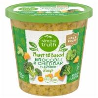 Simple Truth Vegan Broccoli & Cheddar Soup - 24 oz