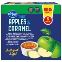 Kroger® Tart Apples & Caramel Snack Tray Pack - 5 ct
