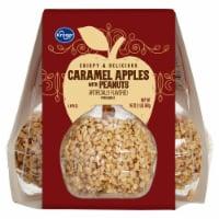 Kroger® Caramel Apples with Peanuts - 3 ct / 16 oz