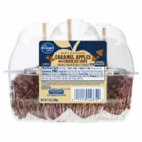 Kroger® Caramel Apples with Chocolate Chips - 3 ct / 12 oz