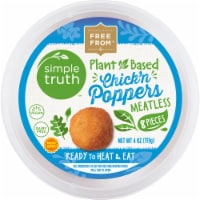 Simple Truth™ Plant-Based Chick'n Poppers - 8 pc