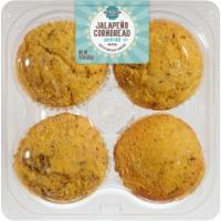 Bakery Fresh Goodness Jalapeno Cornbread Muffins - 4 ct / 15 oz