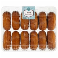 Bakery Fresh Goodness Plain Cake Donuts 12 Count