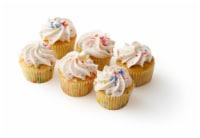 Bakery Fresh Goodness Birthday Iced White Cupcakes