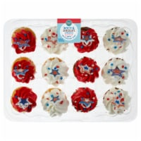 Bakery Fresh Goodness Assorted Patriotic Cupcakes