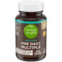 Simple Truth™ Iron Free One Daily Multiple Supplement Tablets