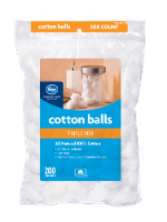 Kroger® Triple Size Cotton Balls 200 Count