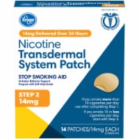 Kroger® Step 2 Stop Smoking Aid Nicotine Transdermal System Patches