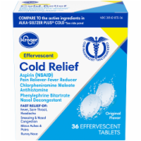 Kroger® Effervescent Cold Relief Tablets