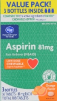 Kroger® Low Dose Orange Aspirin Chews (3 Pack)