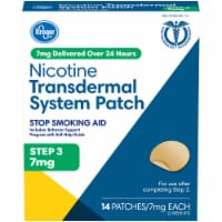 Kroger® Nicotine Transdermal System Patches Step 3