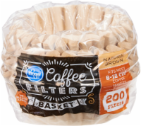 Kroger® Unbleached Coffee Filters - Natural Brown