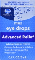Kroger® Advanced Relief Eye Drops