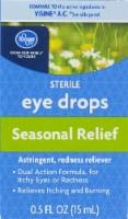 Kroger® Seasonal Relief Sterile Eye Drops - 0.5 fl oz