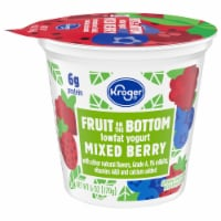 Kroger® Mixed Berry Fruit on the Bottom Lowfat Yogurt