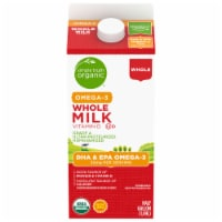 Simple Truth Organic® Whole Milk with DHA Omega-3