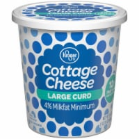 Kroger®  4% Milkfat Large Curd Cottage Cheese