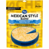 Kroger® Reduced Fat Finely Shredded Mexican Style Cheese