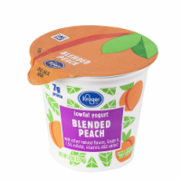 Kroger® Blended Peach Lowfat Yogurt
