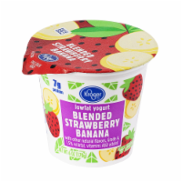 Kroger® Blended Strawberry Banana Lowfat Yogurt