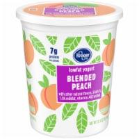 Kroger® Blended Peach Lowfat Yogurt - 32 oz