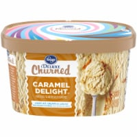 Kroger® Deluxe Churned Caramel Delight Light Ice Cream