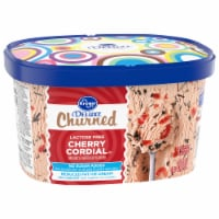 Kroger® Deluxe Churned Lactose Free Cherry Cordial Reduced Fat Ice Cream