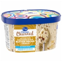 Kroger® Deluxe Churned Lactose Free Southern Crunch Butter Pecan Ice Cream