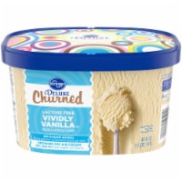 Kroger® Deluxe Churned Lactose Free No Sugar Added Reduced Fat Vividly Vanilla Ice Cream