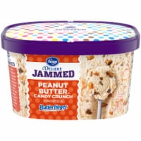 Kroger® Deluxe Jammed Peanut Butter Candy Crunch Frozen Dairy Dessert