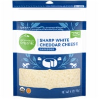 Simple Truth Organic® Shredded Sharp White Cheddar Cheese