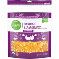 Simple Truth Organic® Mexican Style Blend Finely Shredded Cheese
