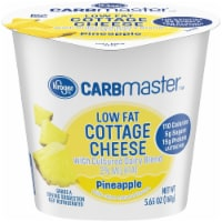 Kroger® CarbMaster™ 2% Low Fat Pineapple Cottage Cheese