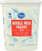 Kroger® Whole Milk Plain Yogurt - 32 oz