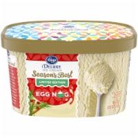 Kroger® Deluxe Season's Best Egg Nog Ice Cream - 48 fl oz