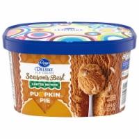 Kroger® Deluxe Season's Best Pumpkin Pie Ice Cream - 48 fl oz