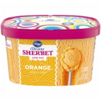 Kroger® Deluxe Low Fat Orange Sherbet