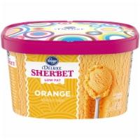 Kroger® Deluxe Low Fat Orange Sherbet - 48 fl oz