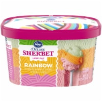 Kroger® Deluxe Low Fat Rainbow Sherbet