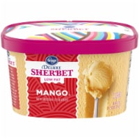 Kroger® Deluxe Low Fat Mango Sherbet