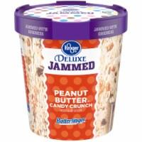 Kroger® Deluxe Jammed Butterfinger Peanut Butter Candy Crunch Frozen Dairy Dessert