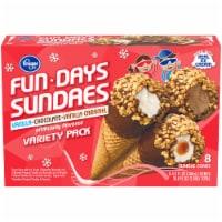 Kroger® Micro Cone Sundaes Variety Pack