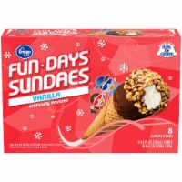 Kroger® Fun Days Sundaes Vanilla Artificially Flavored Sundae Cones