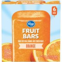 Kroger® Orange Fruit Bars - 6 ct / 2.75 fl oz