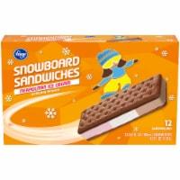 Kroger® Neapolitan Ice Cream Snowboard Sandwiches