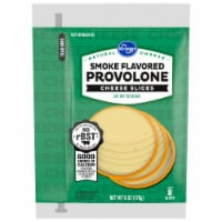 Kroger® Smoke Flavored Provolone Cheese Slices